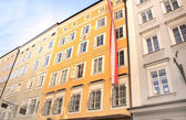 Famous House where Mozart was born, Salzburg — Stok fotoğraf