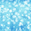 Christmas background with snowflakes — Stok fotoğraf