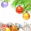 Christmas ornaments — Stock Photo #36085843