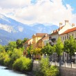 Embankment in Innsbruck, Austria — Stock Photo