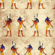 Seamless background with Egyptian gods images — Stock Photo #37422413