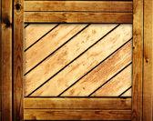 Wooden frame — Stock Photo
