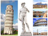 Famous places of Italy — 图库照片