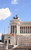 Monumento di vittorio emanuele in piazza venezia, roma — Foto Stock