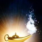 Magic lamp — Stock Photo