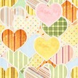 Seamless Valentine background — Stock Photo