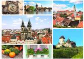 Lugares famosos de república checa — Foto de Stock