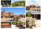 Famous places of Spain — Stock Photo