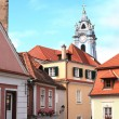 Stock Photo: Old street in Durnstein, Austria