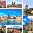 Famous places of Czech Republic — Stock Photo #39622901