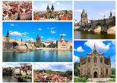 Famous places of Czech Republic — Stock Photo