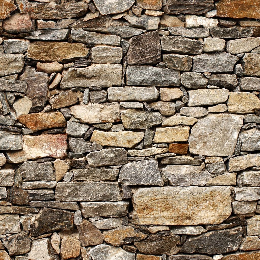 Textura de la muralla medieval de bloques de piedra sin for Pared granate
