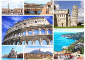Famous places of Italy — Stock Photo
