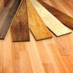 New oak parquet — Stock Photo #42789093