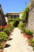 Street in San Marino — Stock Photo