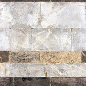 Seamless texture with marble blocks — Stock Photo
