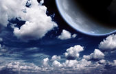 Moon — Stok fotoğraf
