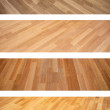 Set of banners with new oak parquet texture — Stock Photo #45206201