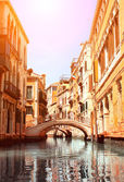 Typical Venice street — Stock Photo