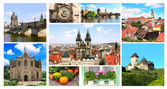 Famous places of Czech Republic — Stock Photo