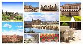 Famous places of Spain — Stock fotografie