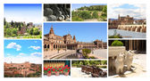 Famous places of Spain — 图库照片