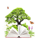Book of nature — Stock Photo
