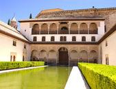 Patio in Alhambra — Stock Photo