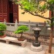 Yard in Jade Buddha Temple, Shanghai, China — Stock Photo #51360019