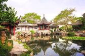 Jardín en suzhou, china del administrador humilde — Foto de Stock