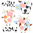 Funny cows — Stock Photo #6137438