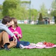 Young couple having a picnic — Stock Photo #12019249