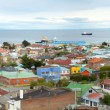 Stock Photo: Panoramic view of Punta Arenas, Chile, South America