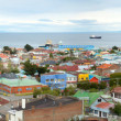 Panoramic view of Punta Arenas, Chile, South America — Stock Photo