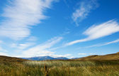 Beautiful sky in Torres del Paine national park of Chile — Stock Photo