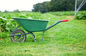 Handcart on a farm — Stock Photo