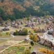 View of the historic village Shirakawa-go in Gifu prefecture, Ja — Stock Photo #13809127