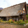 House in historic village Shirakawa-go, Gifu prefecture, Japan — Stock Photo