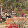 Stock Photo: Houses in historic village Shirakawa-go, Gifu prefecture, Japan