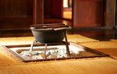 Irori - традиционный японский очаг — Стоковое фото
