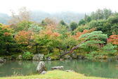 Beautiful autumn landscape of Arashiyama, Kyoto, Japan. Photo ta — Fotografia Stock