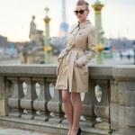 Young Parisian woman — Stock Photo #22463085