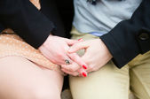 Loving hands — Stock Photo
