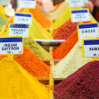 Spices on a Turkish market — Stockfoto