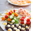 Delicious appetizers — Stock Photo