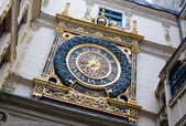 Gros horloge, Rouen, France — Stock Photo