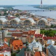 View of Riga from St. Peter's Church — Stock Photo
