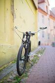 Bike on a street — Stock Photo