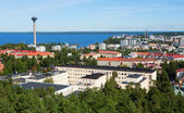 Tampere from Pyynikki tower — Stock Photo