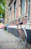 Bicycle on a street — Stock Photo